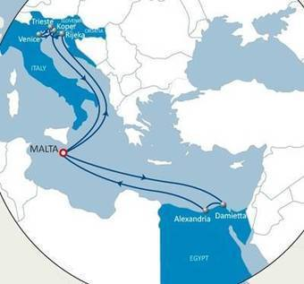 CMA CGM Rolls out Adrimed Express Line   Marine Innovation   Scoop.it