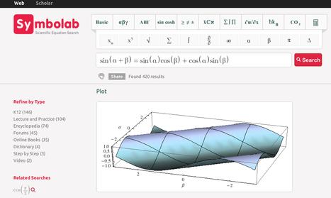 Symbolab : le premier moteur de recherche pour équations mathématiques | Time to Learn | Scoop.it