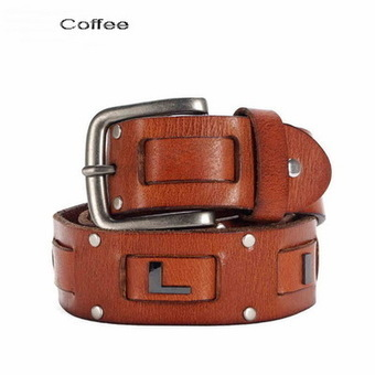 Stylish rivet leather belt for men from Vintage rugged canvas bags | Collection of backpack | Scoop.it