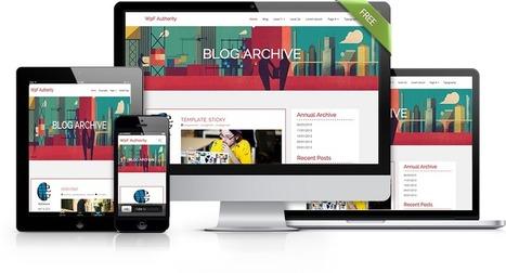 WpF Authority - Free Simple WordPress Theme for Blogs | wpfreeware | Scoop.it