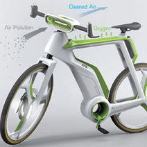 Le vélo purificateur d'air | RoBot cyclotourisme | Scoop.it