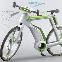 Le vélo purificateur d'air | RoBot cyclotourisme | Scoop.it
