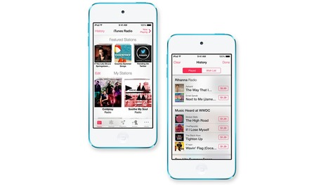 Apple announces iTunes Radio, a streaming music service to compete with Pandora | Wiseband | Scoop.it