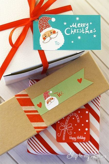Christmas Special Labels Designs - 2014 | Label Printing Services | Scoop.it