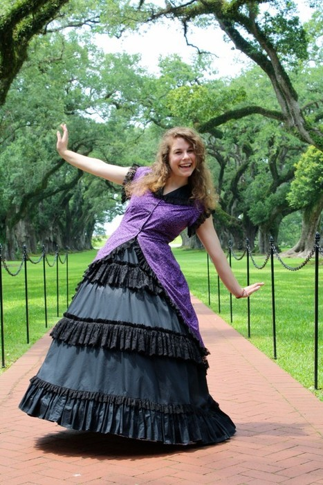 One of our summer interns! | Oak Alley Plantation: Things to see! | Scoop.it