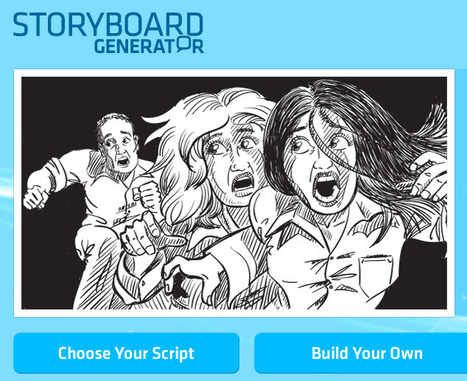 Storyboard Generator - explore storytelling and the moving image | Education & Teacher Resources | Scoop.it