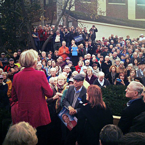 Photo: ElizabethforMA in Concord. Sign up to get out the vote this weekend and Election Day | Massachusetts Senate Race 2012 | Scoop.it