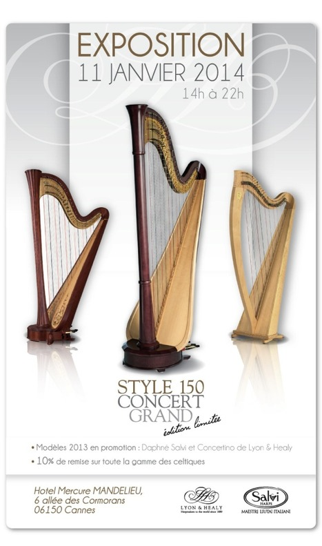 Le Blog des Amis de la Harpe: Exposition Lyon&Healy et Salvi   A propos de harpe   Scoop.it