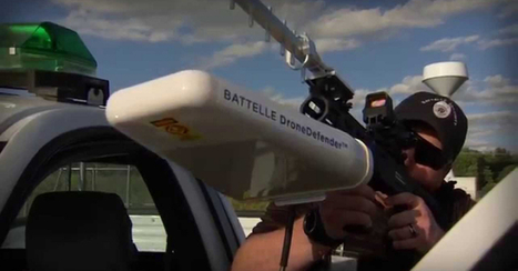 "Drone killer: shotgun-like stunner fires ""frequency hacks"" at airborne pests | Jeff Morris | Scoop.it"