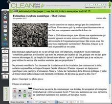 Extension CleanPrint pour copier, partager ou imprimer l 'essentiel | François MAGNAN  Formateur Consultant | Scoop.it