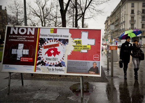 With vote to curb immigration, Swiss roil Europe   IB Section 3 International   Scoop.it