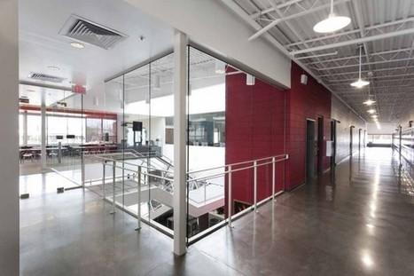 School Design. Modus Studio | Green Forest Middle School | arthitectural.com | School Library Design Planning | Scoop.it