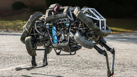 Google Adds to Its Menagerie of Robots | Skylarkers | Scoop.it