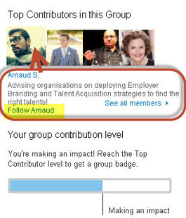 LinkedIn's  'Top Contributors' For Developing Thought Leadership | Cogitation Supremacy | Scoop.it