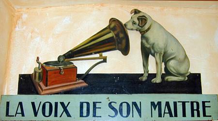 Les Inrocks : 'EMI L'histoire commence avec un petit chien nommé Nipper...   L'actualité de la filière Musique   Scoop.it