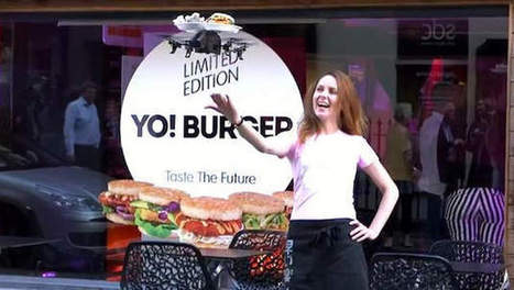 'Fast food': restaurant serveert eten op vliegende schotels   15 Innovatieve toepassingen van ICT & technologie   Scoop.it