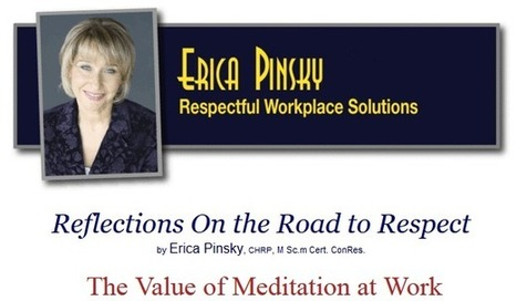 The Value of Meditation at Work | workplace mindfulness | Scoop.it