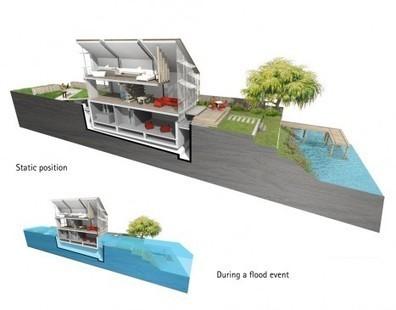 Zones inondables : et si nous construisions des maisons qui flottent ? - Performance énergétique | Think outside the Box | Scoop.it