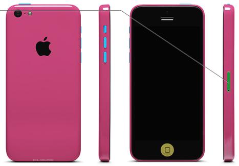 L'iPhone 5c, finalement en 58 coloris - MacPlus | Apple | Scoop.it