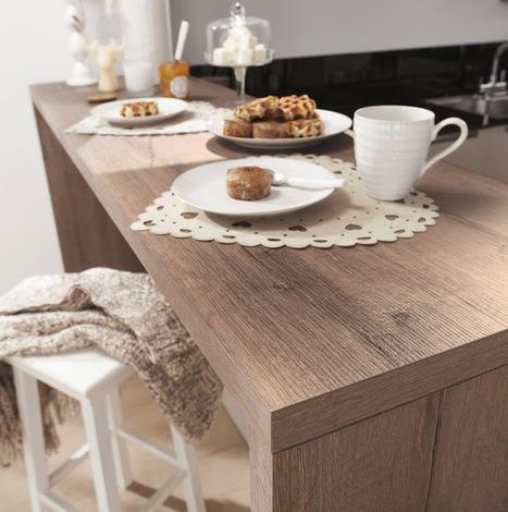 Des cuisines en bois belles et modernes | La minute déco | la minute deco | Scoop.it