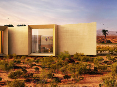 Stunning snowflake-shaped home in the UAE is 100% powered by the desert sun | Sustain Our Earth | Scoop.it