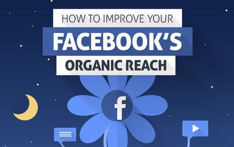 Comment améliorer son reach organique sur Facebook ? (Infographie) | Facebook pour les entreprises | Scoop.it