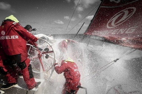 Charles Caudrelier et Dongfeng Race Team de retour sur la Volvo Ocean Race - Course au Large | Volvo Ocean Race | Scoop.it