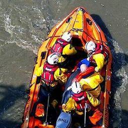 #RNLI give stranded #Dolphin a lift to sea ~ #RiverDee | Rescue our Ocean's & it's species from Man's Pollution! | Scoop.it