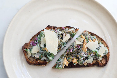 Lentils folded into Yogurt, Spinach, and Basil   Yogurt is good for YOU   Scoop.it