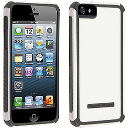 Body Glove Polyurethane/ Plastic Tactic Case - White/ Grey | iPhone 5S | Scoop.it