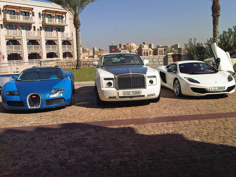 SPOTTED: Three Of The Rarest Cars In The World Are Just Chilling In Dubai | Everything from Social Media to F1 to Photography to Anything Interesting | Scoop.it