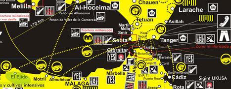 Cartografía crítica del Estrecho de Gibraltar | Urbanism 3.0 | Scoop.it