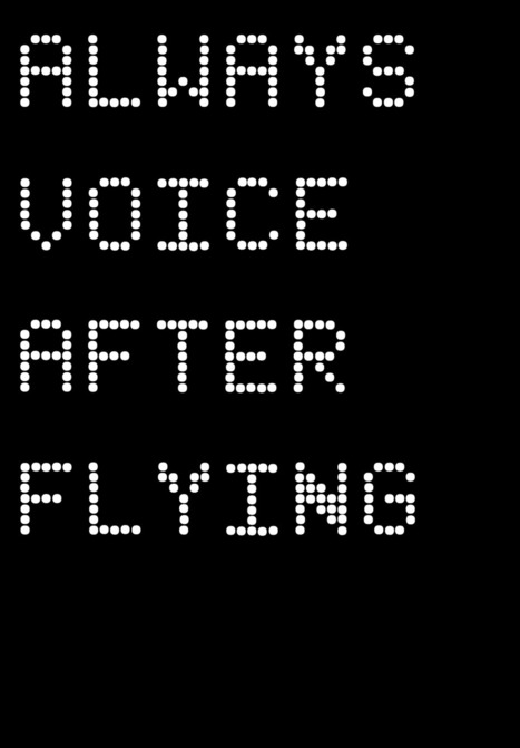 always voice after flying | Art21 | Art Education and Collaboration | Scoop.it
