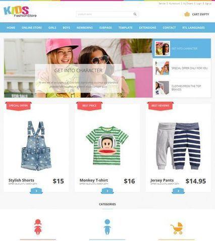 JM-Kids-Fashion-Store ● Joomla-Monster ● Joomla Templates Shop   Joomla 2.5 templates   Scoop.it