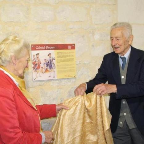 Une plaque en l'honneur de Gabriel Dupuis - 03/10/2015, Monts-sur-Guesnes (86) - La Nouvelle République | Histoire, Patrimoine, Nature en Loudunais | Scoop.it