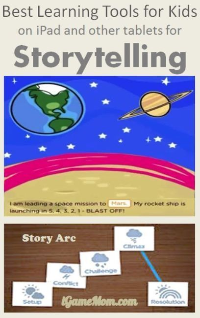 Best Storytelling Learning Tools for Kids on iPad and Other Tablets | iGameMom | Edtech PK-12 | Scoop.it