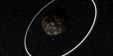Un astéroïde avec des anneaux ! | Astronomie | Scoop.it