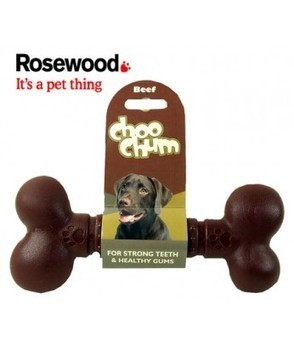 Toys : (Choo Chum) Flavoured Nylon Dog Chew Bone Jumbo Beef | Pet products - Dog | Scoop.it