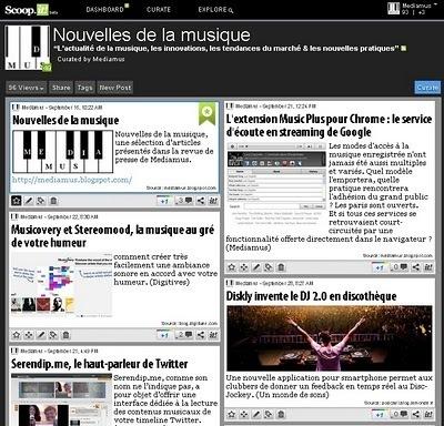 Mediamus: La musique sur Scoop.it : un répertoire thématique par genres et catégories | Paper Rock | Scoop.it