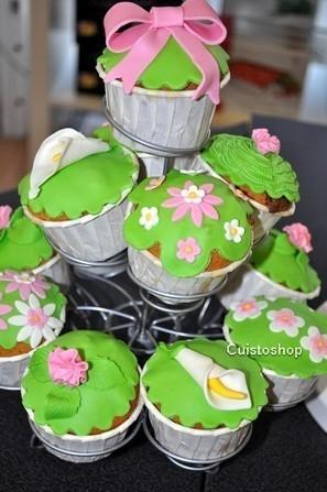 Photos de l'atelier démo Cupcakes de Cuistoshop - Recettes Hanane | cupcake | Scoop.it