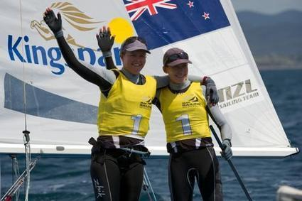 Team Jolly: Into Europe for the first time - Jo Aleh and Polly Powrie - Sail World | Mallorca tips | Scoop.it
