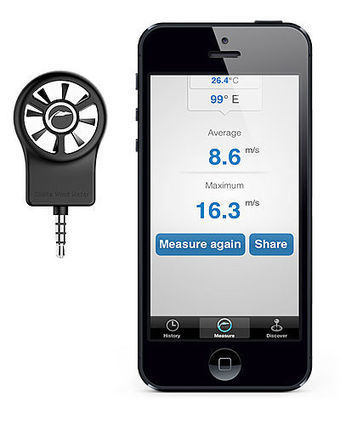 The First Wind Meter for iPhone   Sailing and Regatta : Apps, SW & Tracking   Scoop.it