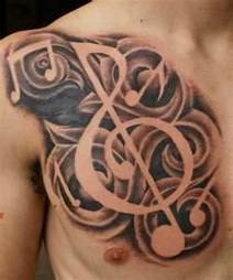 Music Tattoo | Tattoos home desing hairstyle fashion | Scoop.it