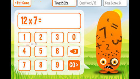 Awesome Multiplication Apps For Kids - Kids Activities Blog | All about multiplication | Scoop.it