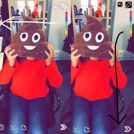 Top 10 des astuces Snapchat que vous ne connaissiez sûrement pas (on parie qu'on vous apprend un truc ?) | sur les réseaux sociaux | Scoop.it