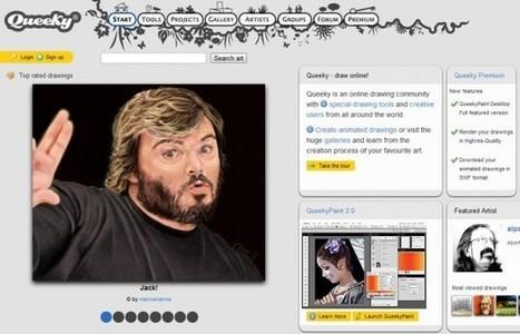 queeky – Para dibujar online y descubrir nuevas técnicas de grandes artistas.- | EDUDIARI 2.0 DE jluisbloc | Scoop.it