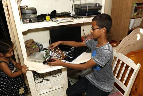 Ahmed Mohamed swept up, 'hoax bomb' charges swept away as Irving teen's story floods social media | Upsetment | Scoop.it