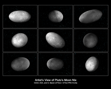 Hubble Finds Two Chaotically Tumbling Pluto Moons, Nix and Hydra | Amazing Science | Scoop.it