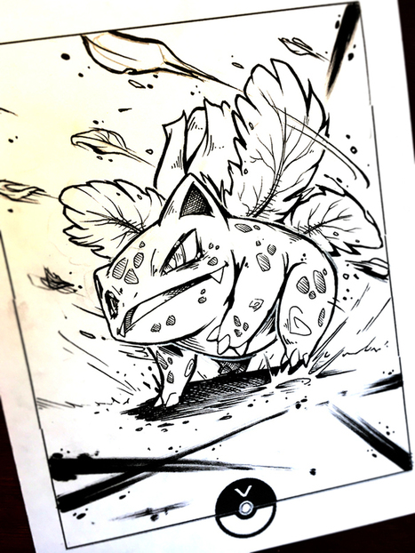 """ Ivysaur""by Vaigh 
