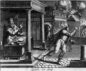 Un hombre lobo en .... ¡¡la antigua Grecia!!: El mito de Licaón. ~ Arqueología en mi jardín | Mitología clásica | Scoop.it